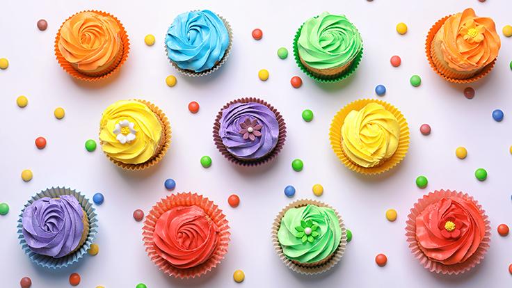 feestelijke muffins