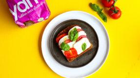 Glutenvrij broodje Caprese