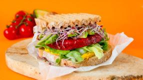 Glutenvrije bietenburger met YAM desem
