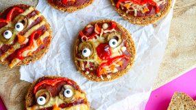 Yummies en monsters pizzabroodjes