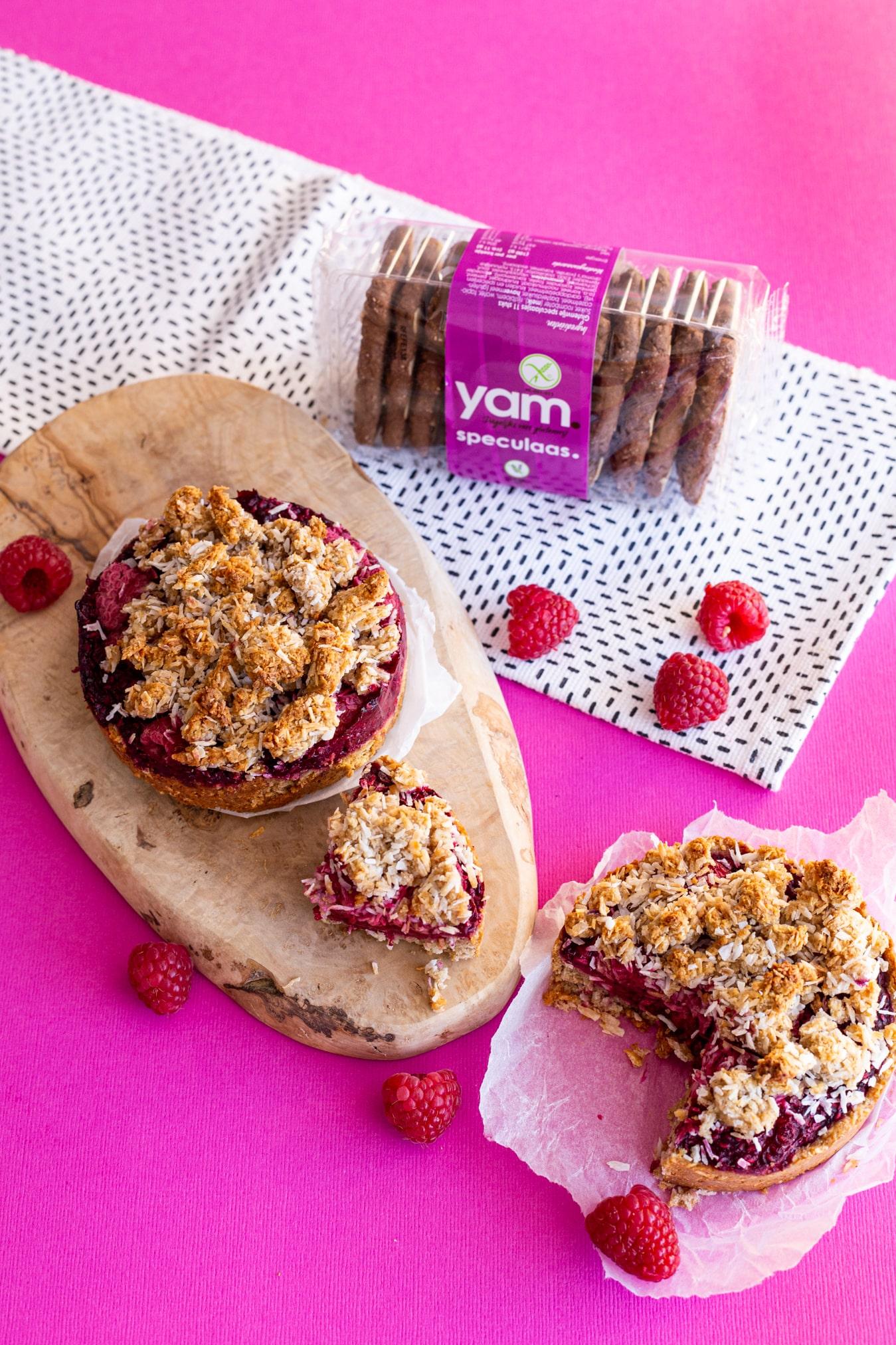 Glutenvrije kruimeltaartjes met YAM speculaas