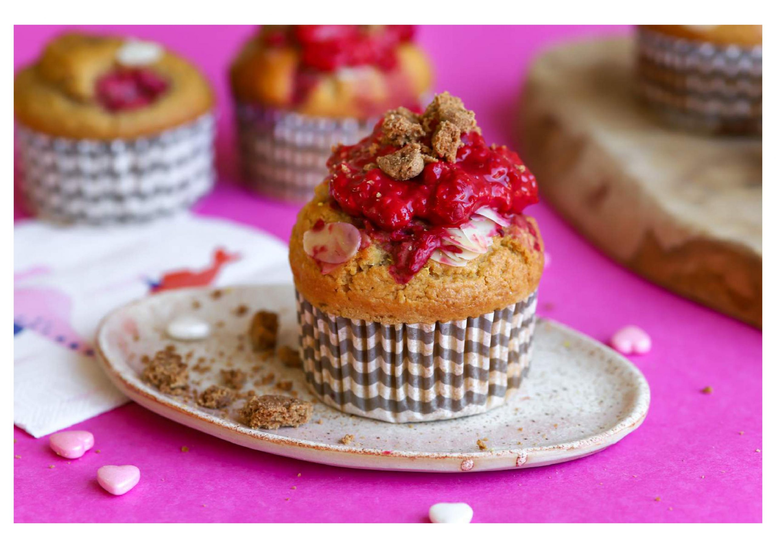 Glutenvrije ontbijtmuffins met YAM speculaas